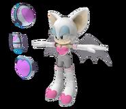 Sonic 06 Model Rouge