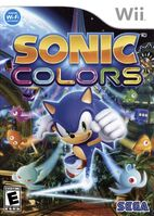 Sonic Colors Wii US front