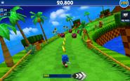 Sonic Dash screen 33