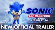 Sonic The Hedgehog (2020) - New Official Trailer - Paramount Pictures-1