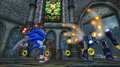 Egg Cannon vs Sonic