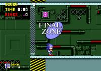 Final Zone start