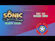 Hit it! Home Run - Sonic and the Secret Rings (Party Mode)