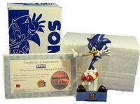 Sonic 15th Anniversary statue