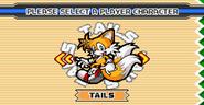 Sonic Advance 3 menu 5