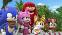 SB S1E42 Team Sonic watch
