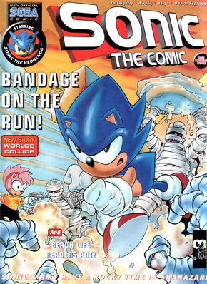Sonic the Comic Issue 164