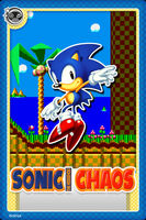 Sonic Chaos Card