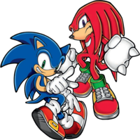 MSG 2D groups - Sonic & Knuckles