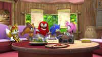SB S1E39 Team Sonic Amy's House
