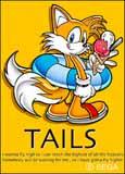 SA Tails card