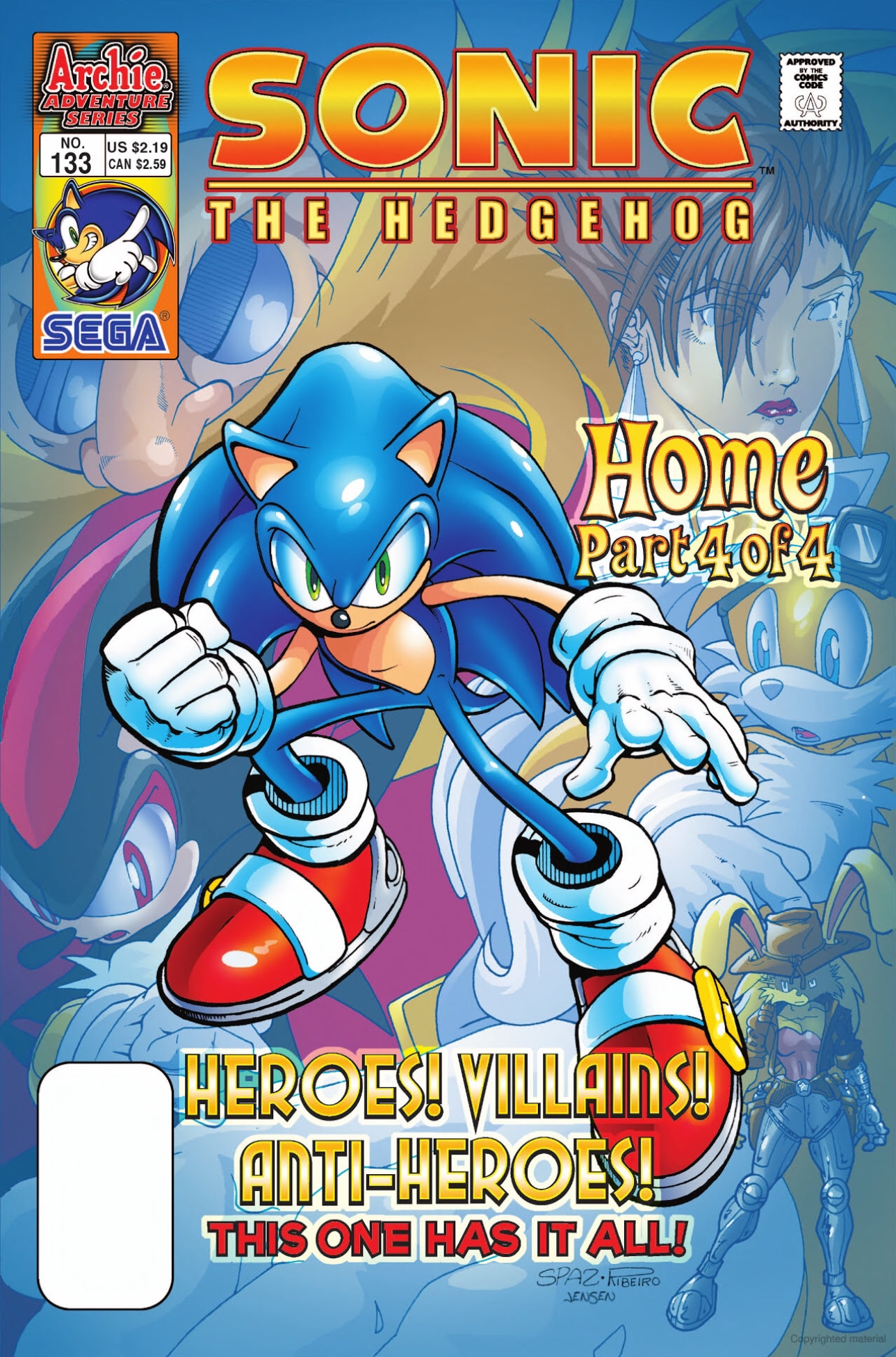 Archie Sonic the Hedgehog Issue 133