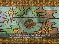 Babylon Garden treasure legend