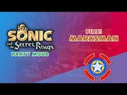 Fire! Marksman - Sonic and the Secret Rings (Party Mode)