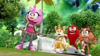 SB S1E19 Team Sonic happy