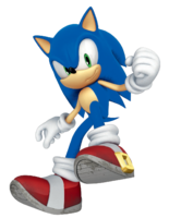 STH 3D Sonic - Colors pose
