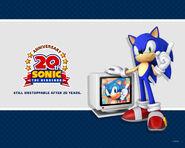 Sonic 20th tapeta 1