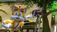 S1E04 Tails Fire Bot cat