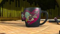 SB S1E39 Justin Beaver mug