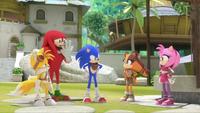 SB S1E25 Team Sonic challenge