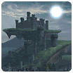 Battle Mode - Camelot Castle's rooftop garden