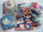 Burger King Sonic 1998 toys sealed
