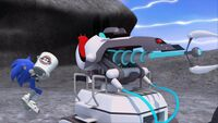 S1E11 Sonic sabotage freeze ray