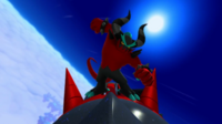 SLW Wii U Zavok Fight 04