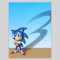 Sonic 3 Promotional Teaser Artwork