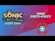 Fore! Putt-Putt - Sonic and the Secret Rings (Party Mode)