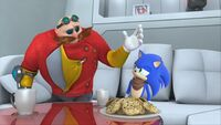 S1E11 Eggman Sonic cookies