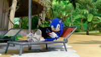 SB S1E13 Sonic rest book