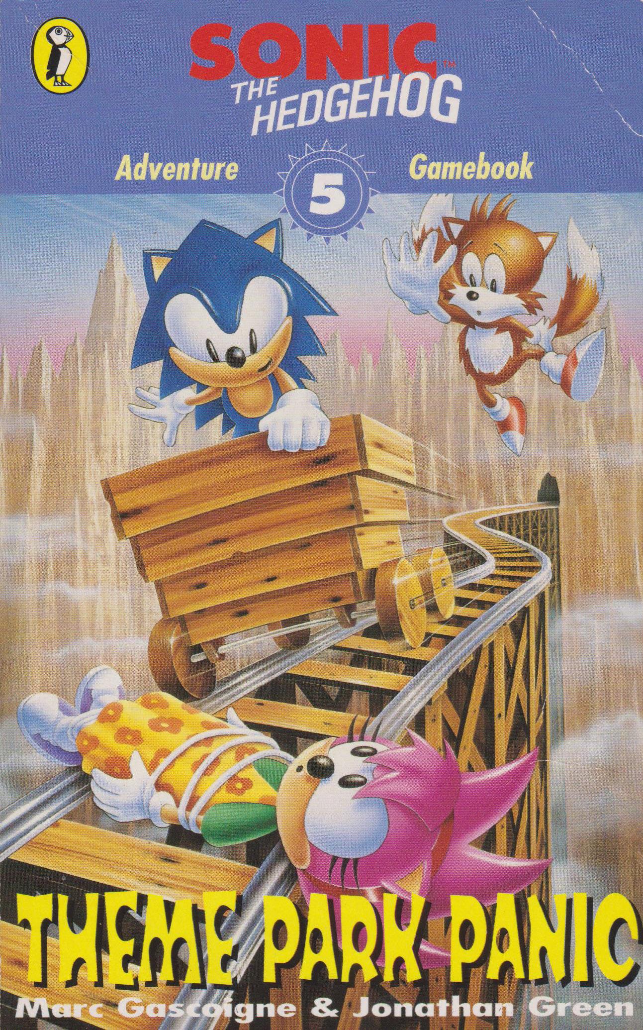 Sonic the Hedgehog Adventure Gamebook 5: Theme Park Panic