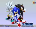 Sonic 06 tapeta 4