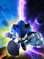 Sonic Unleashed key art no logo