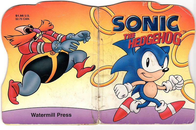 Sonic the Hedgehog (Watermill Press book)