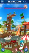 Sonic Dash Beach Zone restored