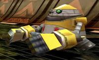 Yellow E-10000 Unit - Sonic Riders