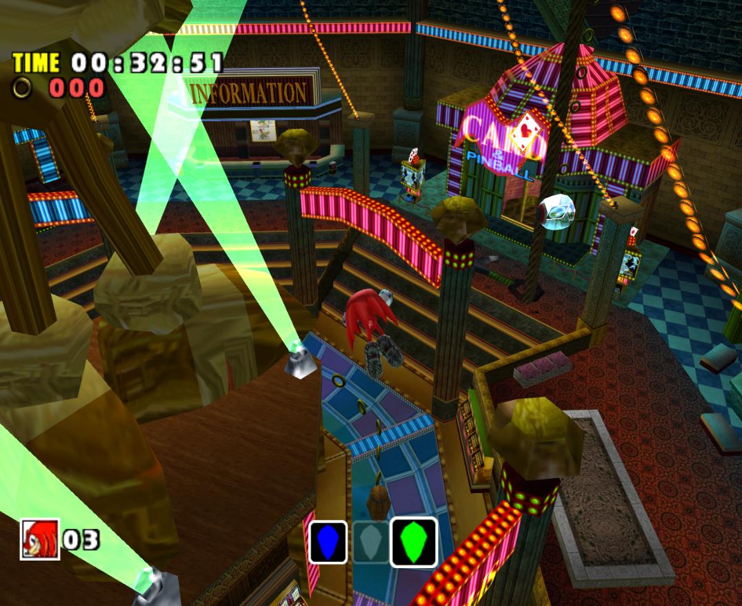 Sonic adventures casino buses para san manuel casino