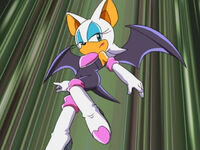 Sonic rouge hot