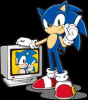 Sonic 20th 2D art JP