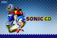 Sonic CD Wallpaper 1