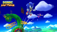 Sonic and NiGHTS Lost World