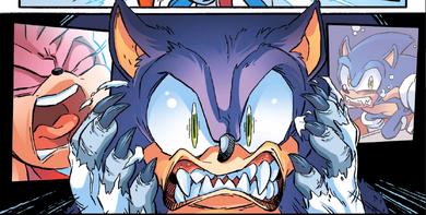 Sonic the werehog-a3