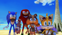SB S1E06 Team Sonic shocked