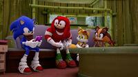 SB S1E50 Team Sonic couch 2