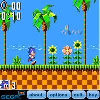 SONIC FOR PALM OS