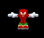 Sega Racing Model Knuckles