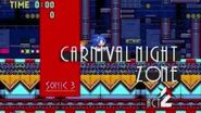 Sonic 3k PC 'Carnival Night act 2' Music 'FM Synthesizer'