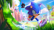 Sonic Runners Adventure loading screen